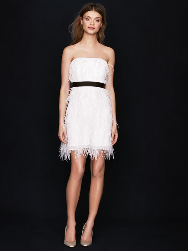 J.Crew Feather Flutter Dress