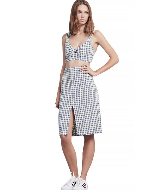 Reformation Clinton Two-Piece Plaid Set