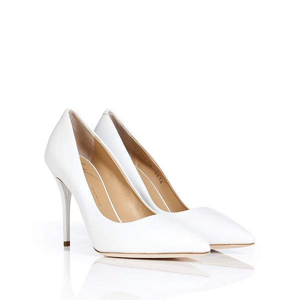 GIUSEPPE ZANOTTI Leather Pointy-Toe Pumps
