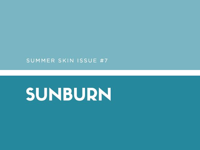 The why: This one's easy—UVA and UVB rays from the sun can damage your skin and leave it inflamed, dry, and even blistered. The fix: Prevention first: always, always apply SPF before...