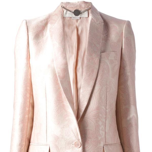 Stella McCartney floral jacquard blazer