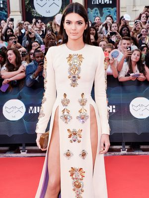 Kendall Jenner Takes The Thigh Slit To A Whole New Level