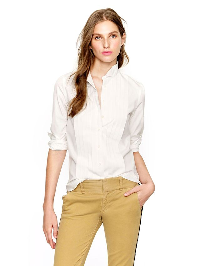 J. Crew Thomas Mason For J. Crew Tuxedo Shirt