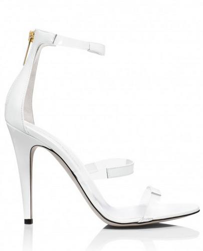 Tamara Mellon Frontline Patent Sandals