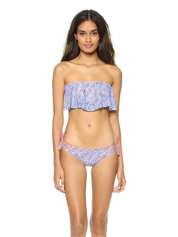 Basta Surf Reversible Flounce Bikini Top