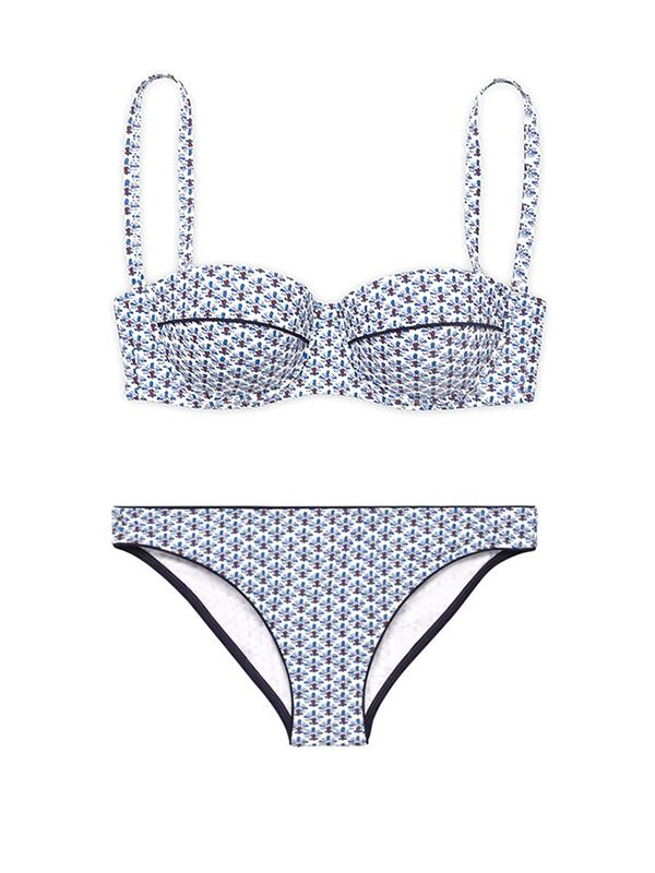 Tory Burch Baja Underwire Bra Bikini
