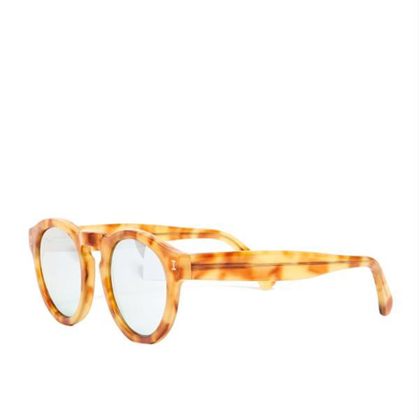 Illesteva Silver Mirrored Sunglasses