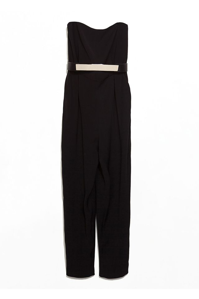 Zara Strapless Long Jumpsuit