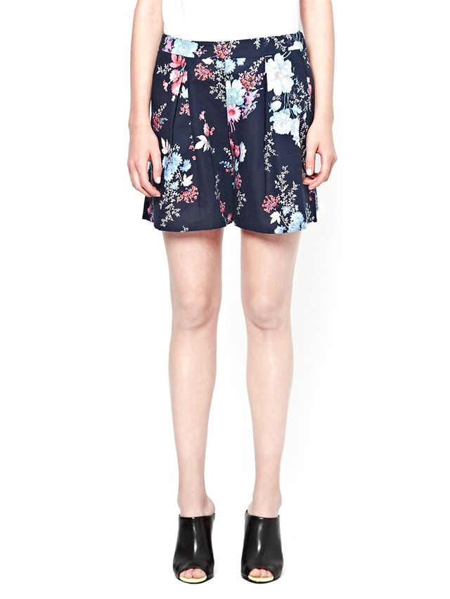 French Connection Genevieve Print Shorts