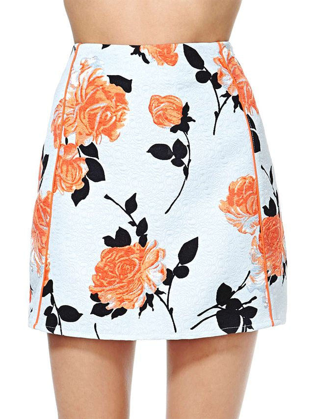 MinkPink Queen's Garden Skirt