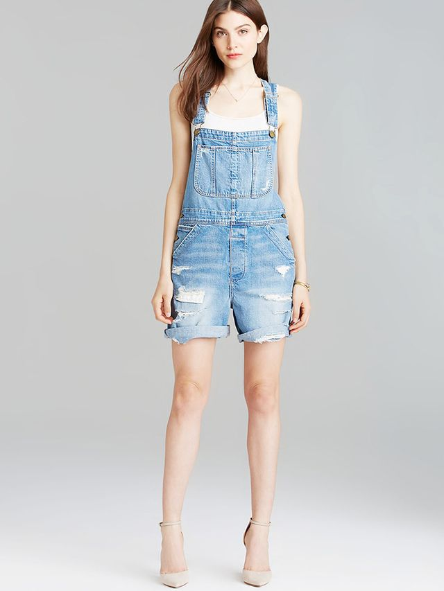 Current/Elliott The Shortall Overalls