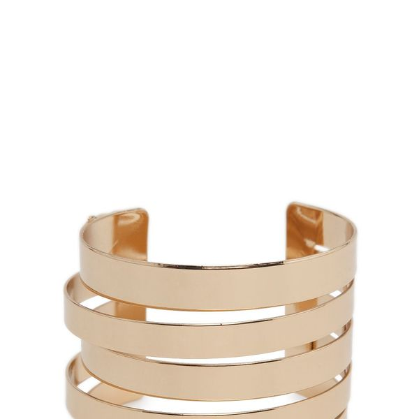 Mango Cut-out metal cuff