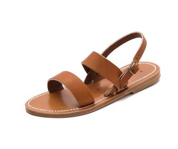 K. Jacques Barigoule Flat Sandals