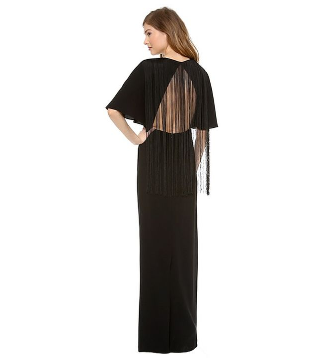 Tibi Fringe Dress