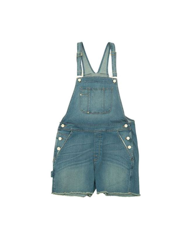 FRAME Denim Le Garcon Overall Shorts