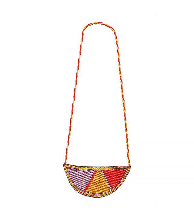 Maasai Half Moon Pendant