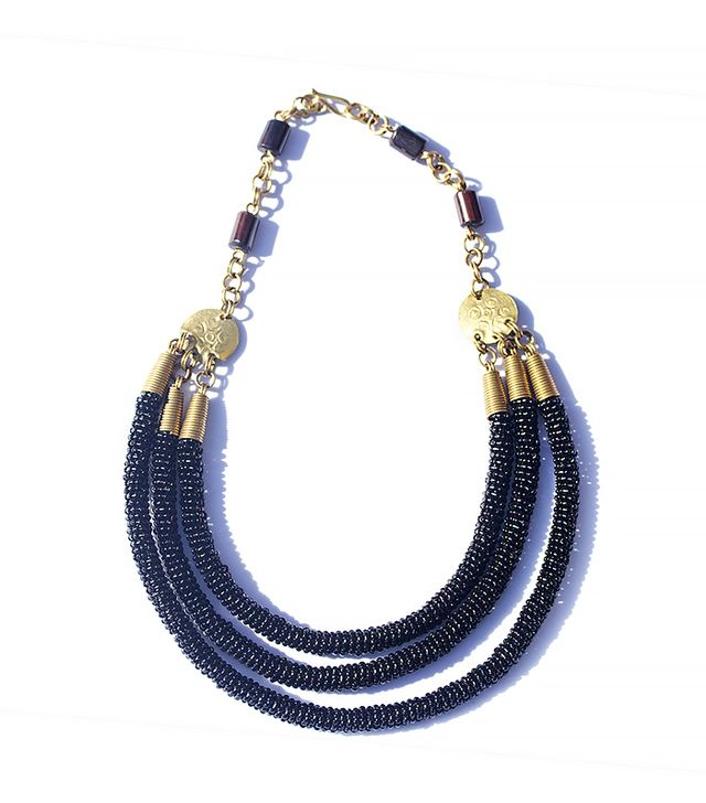 Mara Triple Tube Necklace