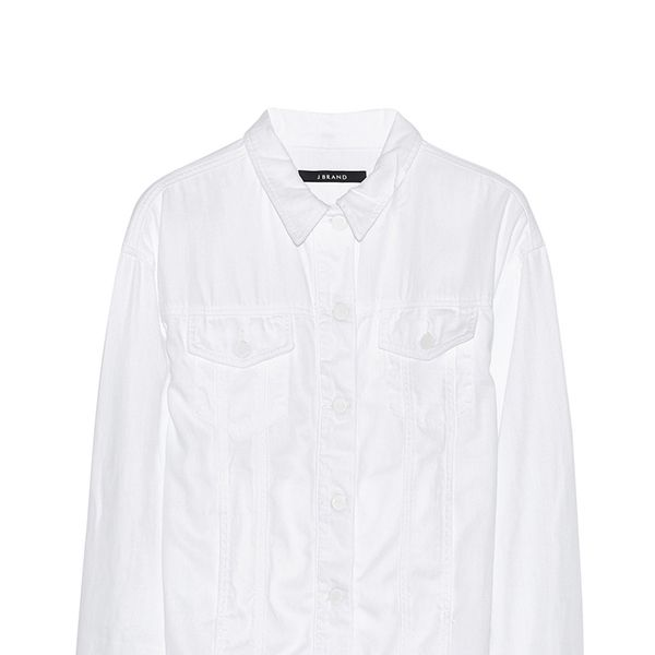 J Brand Boyfriend Oversized Denim Jacket