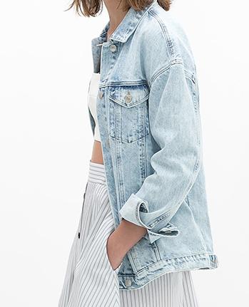 Zara Oversize Denim Jacket