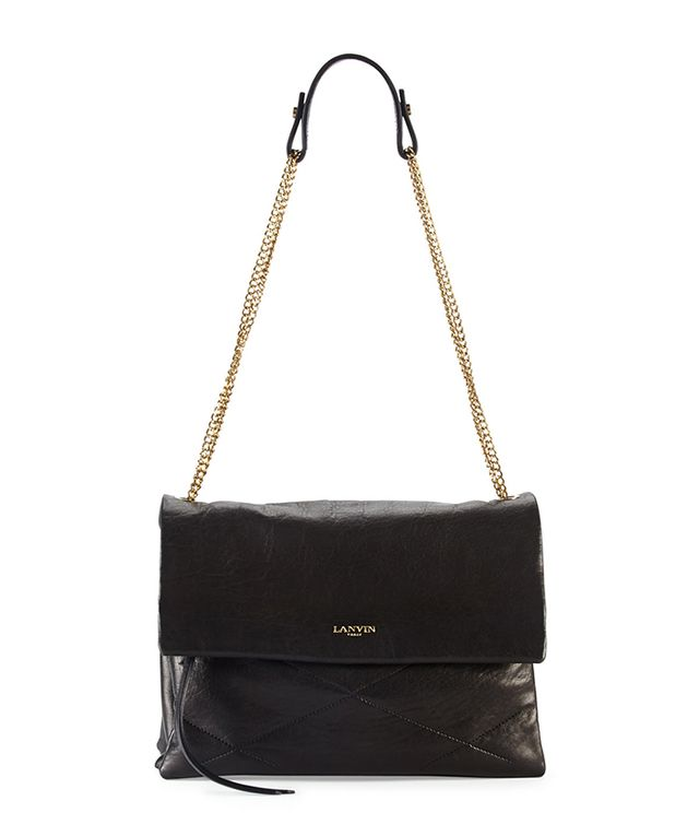 Lanvin Sugar Lambskin Shoulder Bag