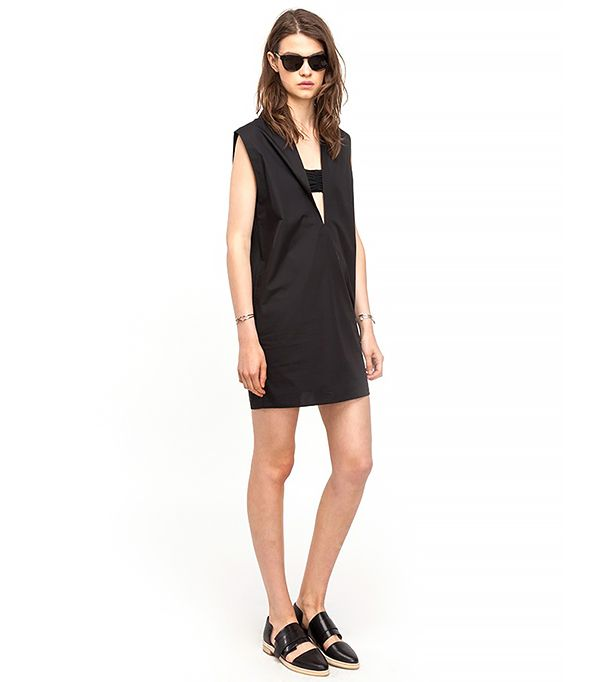T by Alexander Wang Sleeveless Tunic Dress