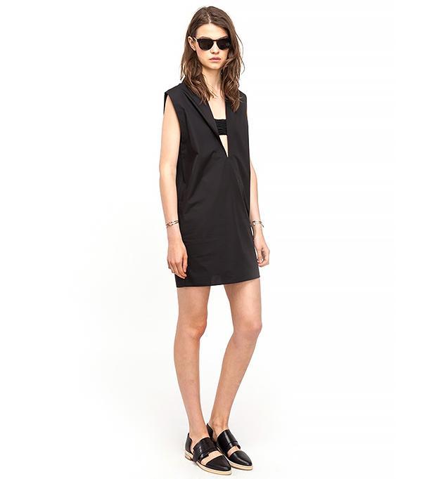 T by Alexander Wang Sleeveless Tunic Dress