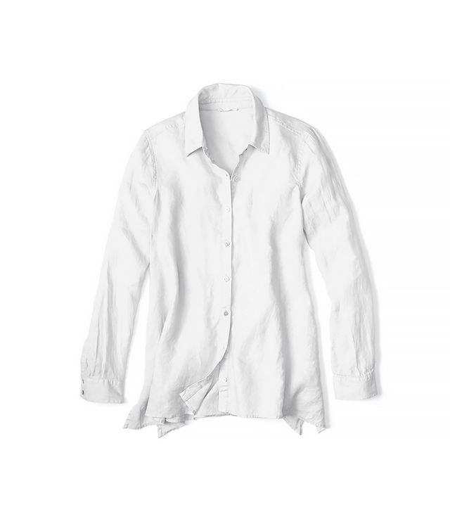 Eileen Fisher Classic Collar Boxy Shirt