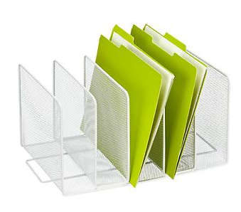 The Container Store White Mesh Super Sorter