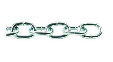 Crown Bolt Zinc-Plated Passing Link Chain