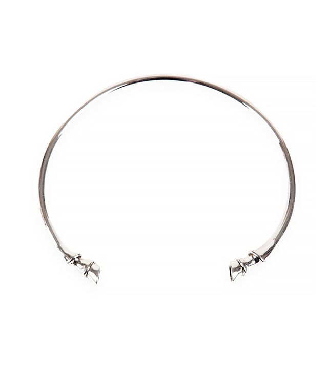 Lady Grey Silver Plated Cheval Collar