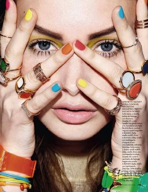 Statement Nail And Jewelry Inspiration From ELLE Italia
