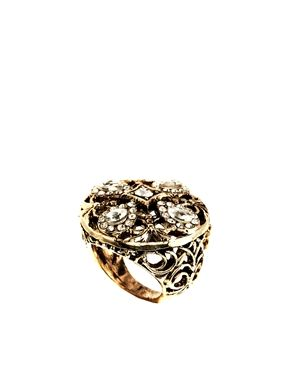 ASOS Filigree Domed Ring