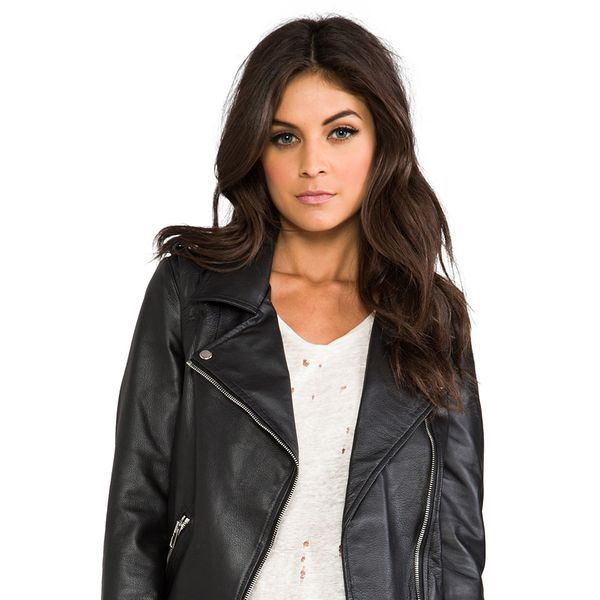 Luv Aj Leather Moto Jacket
