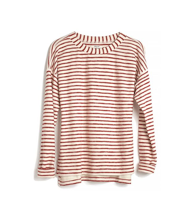 Madewell Surfbreeze Sweatshirt In Stripe