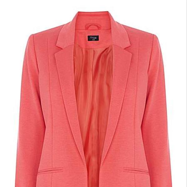 Oasis Seamed ponte jacket