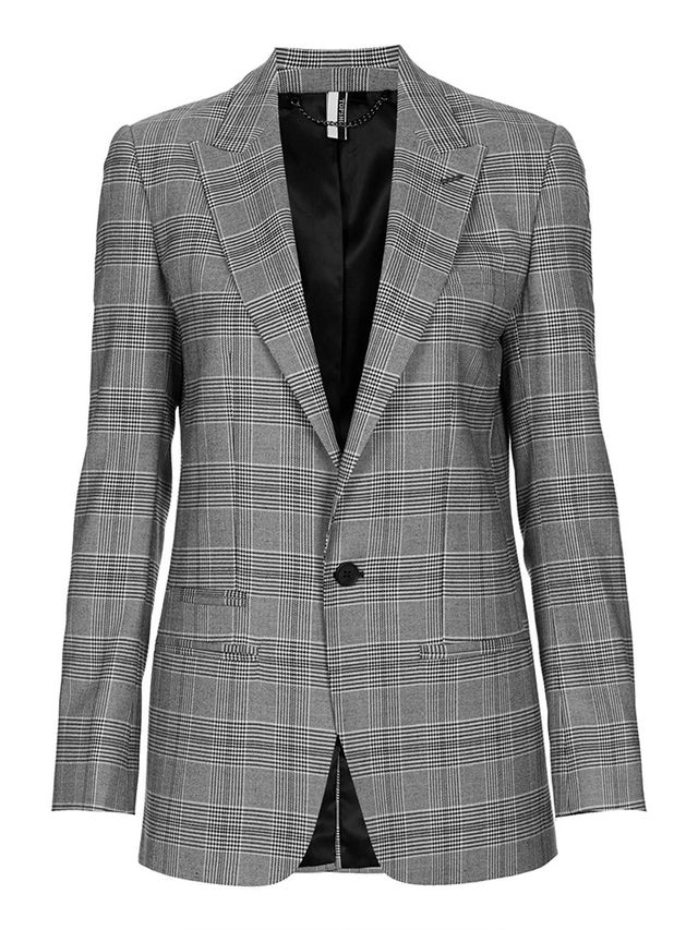 Topshop Modern Tailored Check Jacket