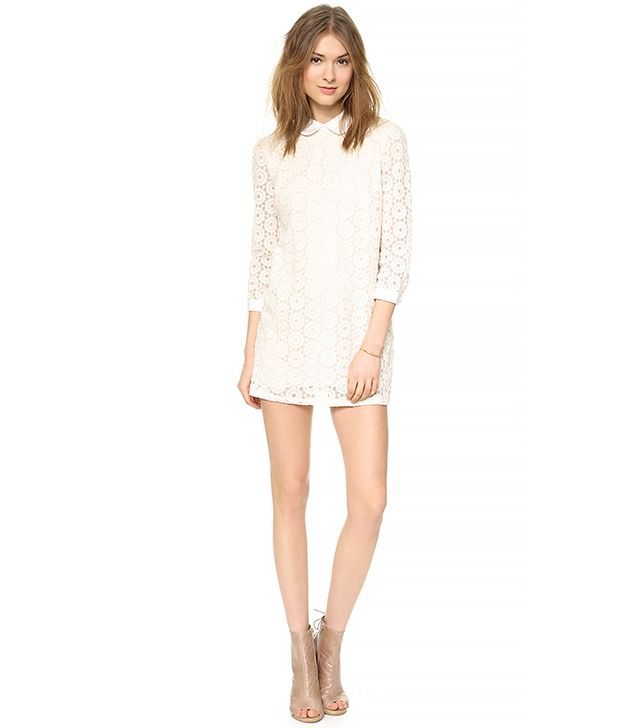 Lovers + Friends Monica Rose Rosita Dress in Bone