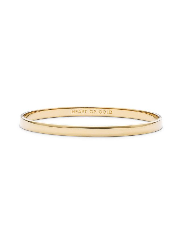 kate spade new york Idiom Heart of Gold Bangle