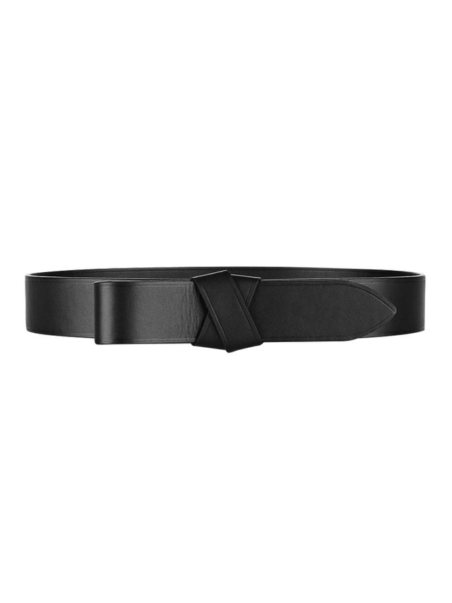 Lanvin Looped Leather Belt
