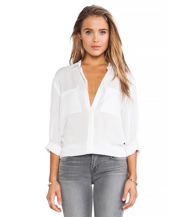 Vince Long-Sleeve Button-Up Shirt