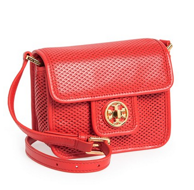 Tory Burch Mini Harper Leather Crossbody Bag