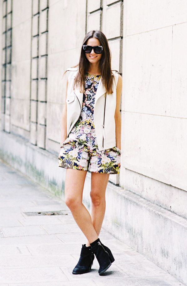 Day 29: Layer your look with a sleeveless vest.