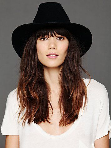 Free People Wool Felt Cowboy Hat