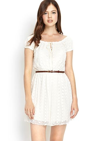 Forever21 Ethereal Lace Dress
