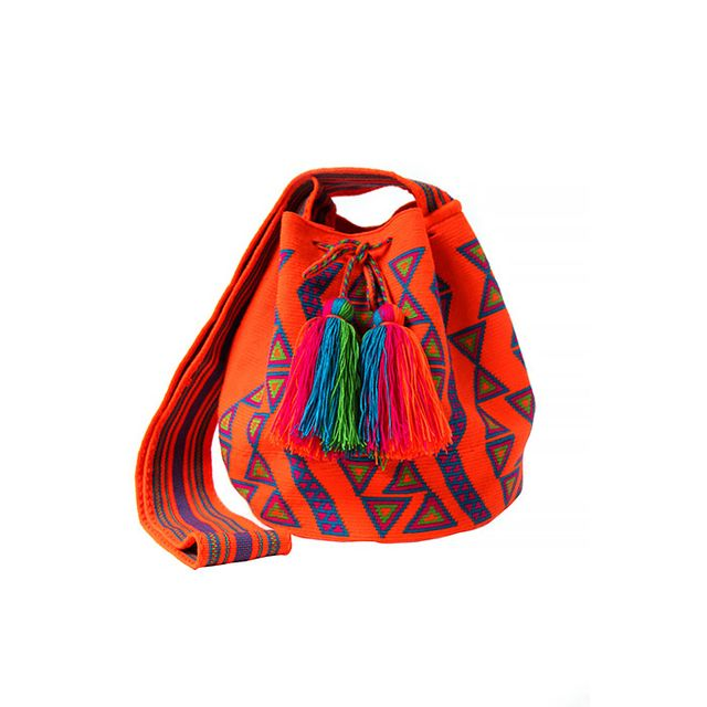 Accompany Orange Neon Cartagena Bag
