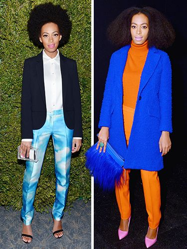 Color Wars: Solange's 25 Best Outfits Of All Time