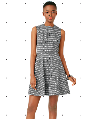 Kate Spade Saturday Seamed Dress