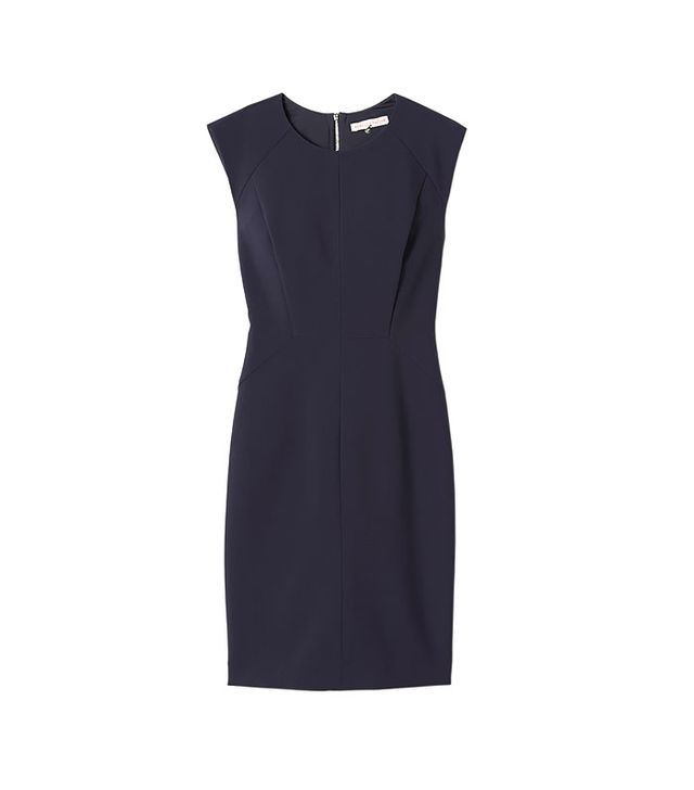 Rebecca Taylor Seamed Shift Dress