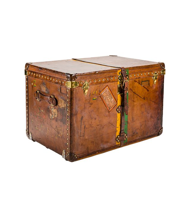 Louis Vuitton Calf Leather Trunk