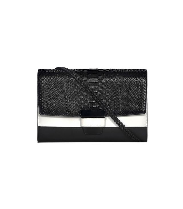 Narciso Rodriguez Python Candice Shoulder Bag With Chain